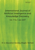 International Journal of Artificial Intelligence and Knowledge Discovery