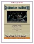 Biochemistry Justification