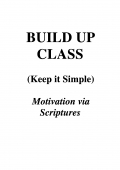 Build Up Class: Keep it Simple