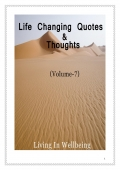 Life Changing Quotes & Thoughts (Volume 7)