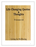 Life Changing Quotes & Thoughts (Volume 10)