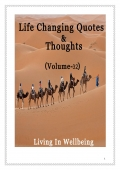 Life Changing Quotes & Thoughts (Volume 32)