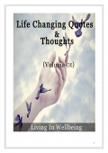 Life Changing Quotes & Thoughts (Volume 36)