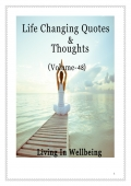 Life Changing Quotes & Thoughts (Volume 48)