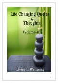 Life Changing Quotes & Thoughts (Volume 49)