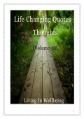Life Changing Quotes & Thoughts (Volume 50) (eBook)