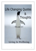 Life Changing Quotes & Thoughts (Volume 51)