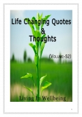 Life Changing Quotes & Thoughts (Volume 52)