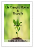 Life Changing Quotes & Thoughts (Volume 54)