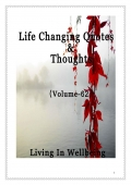 Life Changing Quotes & Thoughts (Volume 62)