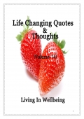 Life Changing Quotes & Thoughts (Volume 74) (eBook)
