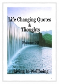 Life Changing Quotes & Thoughts (Volume 79) (eBook)