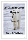 Life Changing Quotes & Thoughts (Volume 81)