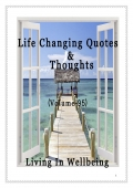 Life Changing Quotes & Thoughts (Volume 95)