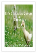 Life Changing Quotes & Thoughts (Volume 98) (eBook)