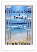Life Changing Quotes & Thoughts (Volume 101)
