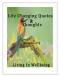 Life Changing Quotes & Thoughts (Volume 110)