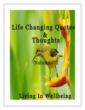 Life Changing Quotes & Thoughts (Volume 113)