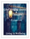 Life Changing Quotes & Thoughts (Volume 120)