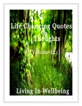 Life Changing Quotes & Thoughts (Volume 121)
