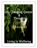 Life Changing Quotes & Thoughts (Volume 122)