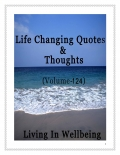 Life Changing Quotes & Thoughts (Volume 124)