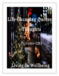 Life Changing Quotes & Thoughts (Volume 126)