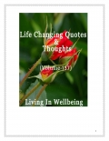 Life Changing Quotes & Thoughts (Volume 137)