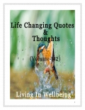 Life Changing Quotes & Thoughts (Volume 142)