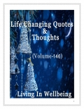 Life Changing Quotes & Thoughts (Volume 146)