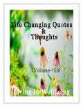 Life Changing Quotes & Thoughts (Volume 159)