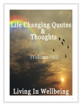 Life Changing Quotes & Thoughts (Volume 160)