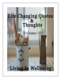 Life Changing Quotes & Thoughts (Volume 165)