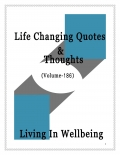 Life Changing Quotes & Thoughts (Volume 186)