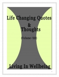 Life Changing Quotes & Thoughts (Volume 188)