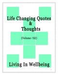 Life Changing Quotes & Thoughts (Volume 192)