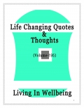 Life Changing Quotes & Thoughts (Volume 195)