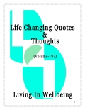Life Changing Quotes & Thoughts (Volume 197) (eBook)