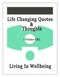 Life Changing Quotes & Thoughts (Volume 198)