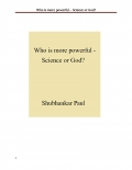 Who is more powerful - Science or God?