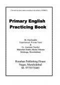 Primary English Practicing Book