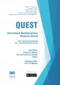 Quest International Research Journal (January - 2018)