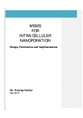 MEMS  FOR  INTRA CELLULER NANOPORATION