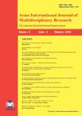 Acme International Research Journal (February - 2018)