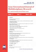 Acme International Research Journal (March - 2018)