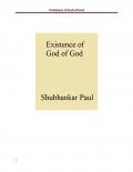 Existence of God of God