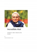 incredible atal