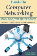 Hands on Computer Networks 1500+ MCQ E-Book Test Series
