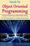 Hands on Object Oriented Programming 1000 MCQ