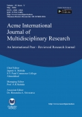Acme International Research Journal (May - 2016)